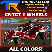 [PlayStation] Rocket League Every CNTCT-1 Very Rare Wheels Titanium White etc.