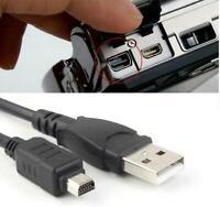 2x 12Pin CB-USB5 USB6 CB-USB8 USB Cable for Olympus u Tough 5010 6000 7030 8010