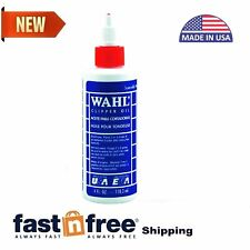 Wahl Pro Clipper Oil For Hair Trimmers And Clippers Blade Lubricating Anti Rust