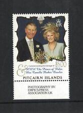2005 Pitcairn Islands, Royal Weding, SG 688 muh