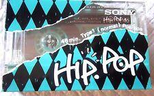 1 x SONY HIP POP 46N [1988] ULTRA RARE - Blank Audio Cassette Tape NEW sealed