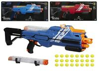 Nerf Rival Hypnos XIX-1200 Blaster Red Blue Ages 14+ Toy Play Gun Fight Fire Fun