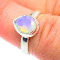 Ethiopian Opal 925 Sterling Silver Ring Size 6.5 Ana Co Jewelry R54335