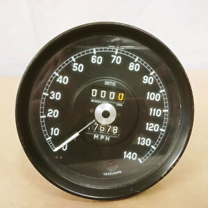 Jaguar XJ6 Series 1 Original Speedometer Gauge 140MPH Smiths SN6330/29AS OEM