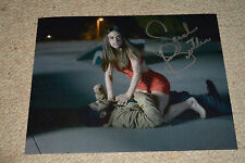 SARAH BUTLER signed Autogramm 20x25 cm In Person I SPIT ON YOUR GRAVE