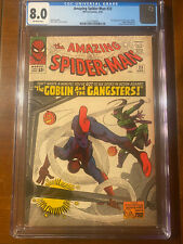 AMAZING SPIDER-MAN #23 4/65 CGC 8.0 OW NICE HIGH GRADE BOOK!! 3RD GOBLIN!