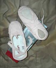 NWT CAPEZIO SPLIT SOLE BALLET SHOES 2039 CANVAS BALLET PINK DANCE