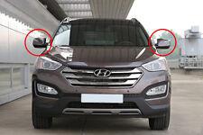 LH, RH LED Auto Folding Side Mirror Genuine For 13~2015+ Hyundai Santa Fe Sport