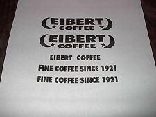 TONKA_TRUCK_1954_EIBERT_COFFEE_METRO_VAN_DECAL SET
