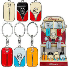 Metal Keychain VW Camper Van Bus Beetle capot Volkswagen Rétro Licence Porte-clés