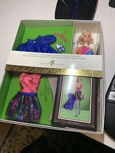 Barbie 2006 BLONDE Reproduction TNT Nite Lightning Stacey ~NRFB AUTOGRAPHED