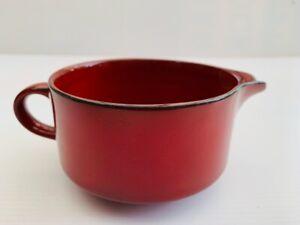 Vintage Villeroy & Boch GRANADA Red Milk Jug Creamer Excellent Condition (D)