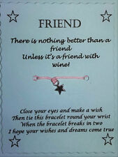 Friend gift, Wish Bracelet, Friendship Bracelet, Gift Friends, Funny gift
