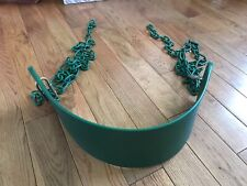 Heavy Duty Swing Seat For Swing Set With 2 Chains For Adult & Kids Green