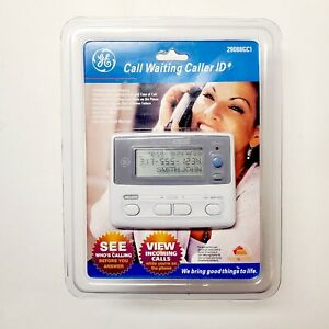 GE Call Waiting Caller ID 29088GC1 80 Name Number Memory NEW SEALED