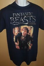 Sz L Fantastic Beasts and Where to Find Them T Shirt  - Newt Scamander - New
