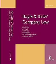 Boyle and Birds' Company Law: Sixth Edition by John Birds