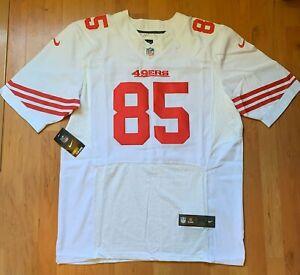 Mens Nike NFL San Fransisco 49ers On Field Vernon Davis Jersey Size 56 3XL