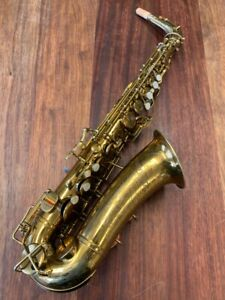 Pre-Owned BUESCHER ARISTOCRAT Alto Saxophone #283833 Repadded PERFECT Ships FREE