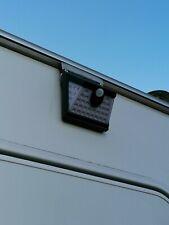 40 LED Caravan Solar PIR Motion Sensor Light - slides on awning rail.