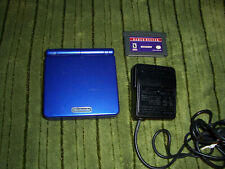 Nintendo Game Boy Advance SP NES Classic Edition  AGS-001~COBALT BLUE~L@@K'!!!!