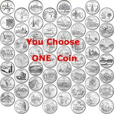 Any ONE Coin - 1999 - 2009 State Quarter & Territories - Uncirculated - P Mint