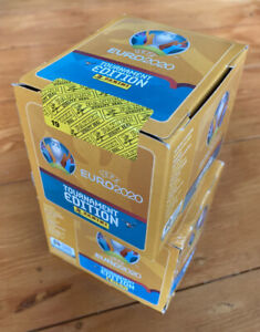 Panini *UEFA Euro 2020 Tournament Edition Stickers FACTORY SEALED Box of 50 New