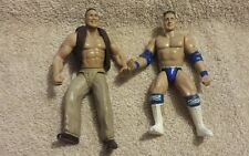 Awesome Jakks 1997 1998 WWE figure The Rock + Rocky Mavia loose lot of 2