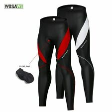 Mens Cycling Winter Thermal Cold Wear Padded Legging Bike Pants Cycling Trouser