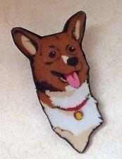 Ein Cowboy Bebop Pembroke Welsh Corgi Dog Pin Pinback Manga Anime fooly cooly