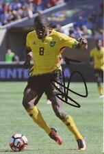 Giamaica & Birmingham: Clayton Donaldson firmata 6x4 FOTO D'AZIONE + COA