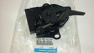 Genuine OEM Mazda GD7A-56-620A Hood Lock 1998-2002 626