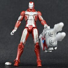 "Iron Man 2 Movie Series Armored Assault Target Exclusive MARK V 5 4"" Figure"