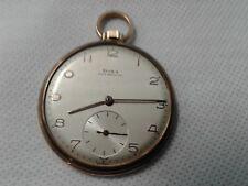 Doxa pocket watch 14 Karat gold