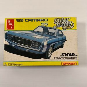AMT 1/43 PK-2104 Matchbox Street Magic 69 Camaro SS vintage kit open box