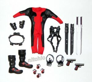 1/12 Scale Accessory KO – Deadpool ACCESSORIES, PARTS & WEAPONS LOT