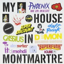 My House in Montmartre CD Album French Electro Phoenix Daft Punk Cassius Mehdi