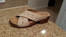 New Size 7M Nude White Mountain Sandal