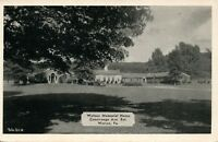 WARREN PA WATSON MEMORIAL HOME CONEWANGO AVENUE 1950 VINTAGE POSTCARD