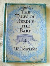 BEEDLE THE BARD. HARRY POTTER JK ROWLING. FIRST EDITION -  LATER PRINT BOOK. UK.