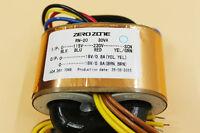ZEROZONE R-Core transformer 30VA 0-115V-230V To 0-18V/0.8A*2 For Headphone amp