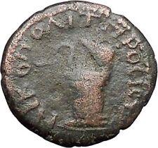 CARACALLA Nicopolis ad Istrum Ancient Roman Coin Cista mystica Serpent  i48003