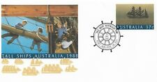 1987 Tall Ships Special Postmark on PSE Pt. Adelaide 22 Dec Pictor Marks No 1431