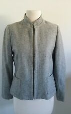Katies GREY Vintage 70s wool lined Jacket