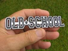 OLD SCHOOL Metal Car Emblem Badge NEW suit Valiant Ford or Holden etc