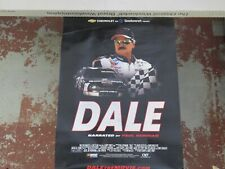 DALE EARNHARDT SR  THE MOVIE POSTER NASCAR GM PROMOTION