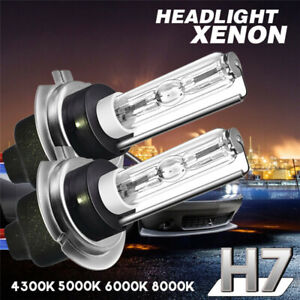 2X TXVSO8 H7 55W Car Xenon  HID Light Bulb Lamp Metal Bas R