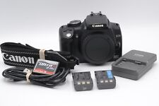 EXC Canon Nero Eos 350D (Rebel XT) DSLR 8MP Corpo Confezione,2BATTS,Cf Card,USB