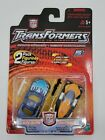 NEW Rare Transformers SIDEBURN & DAYTONUS RID Hasbro NOC 2-Pack 2001
