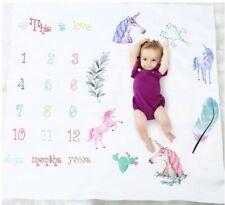 Unicorn Newborn Baby Photography BACKDROP Calendar